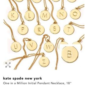Kate spade one in a million S Pendant necklace